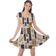 Pattern Wallpaper Patterns Abstract Cap Sleeve Dresses