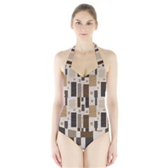 Pattern Wallpaper Patterns Abstract Halter Swimsuit