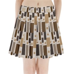 Pattern Wallpaper Patterns Abstract Pleated Mini Skirt