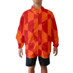 Background Texture Pattern Colorful Wind Breaker (kids)