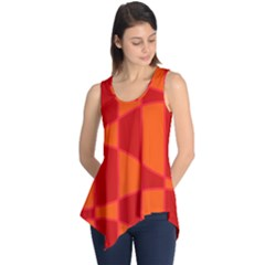 Background Texture Pattern Colorful Sleeveless Tunic