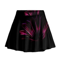 Pattern Design Abstract Background Mini Flare Skirt