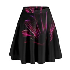 Pattern Design Abstract Background High Waist Skirt
