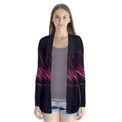 Pattern Design Abstract Background Cardigans