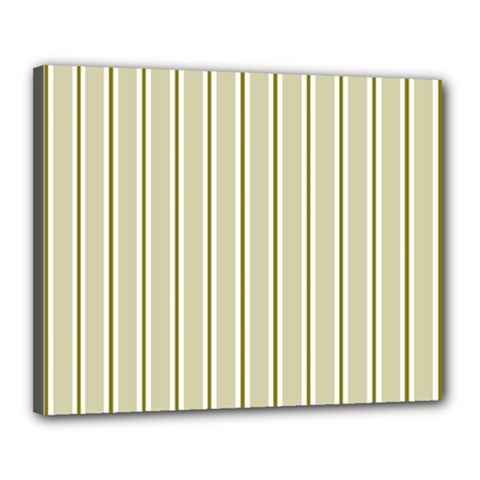 Pattern Background Green Lines Canvas 20  X 16