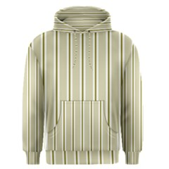 Pattern Background Green Lines Men s Pullover Hoodie