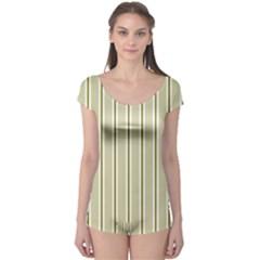 Pattern Background Green Lines Boyleg Leotard