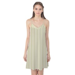Pattern Background Green Lines Camis Nightgown