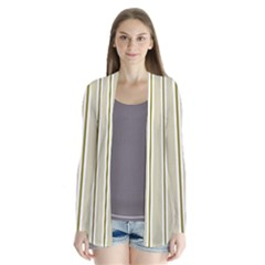 Pattern Background Green Lines Cardigans