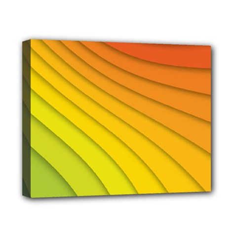 Abstract Pattern Lines Wave Canvas 10  x 8