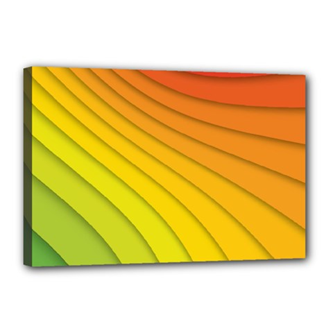Abstract Pattern Lines Wave Canvas 18  X 12