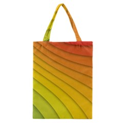 Abstract Pattern Lines Wave Classic Tote Bag