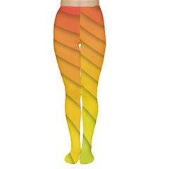Abstract Pattern Lines Wave Women s Tights