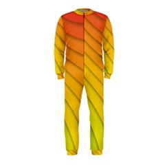 Abstract Pattern Lines Wave Onepiece Jumpsuit (kids)