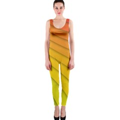 Abstract Pattern Lines Wave OnePiece Catsuit