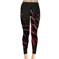 Pattern Design Abstract Background Leggings