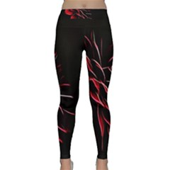 Pattern Design Abstract Background Classic Yoga Leggings
