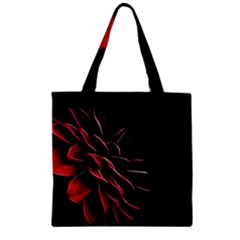 Pattern Design Abstract Background Zipper Grocery Tote Bag