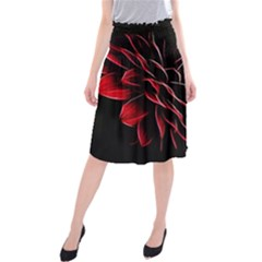 Pattern Design Abstract Background Midi Beach Skirt