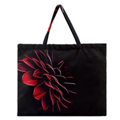 Pattern Design Abstract Background Zipper Large Tote Bag