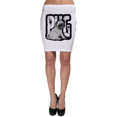 Pug Bodycon Skirt