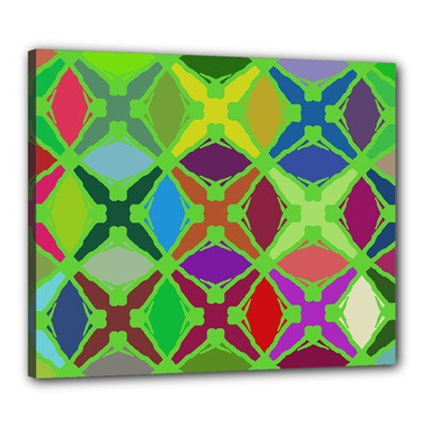 Abstract Pattern Background Design Canvas 24  x 20