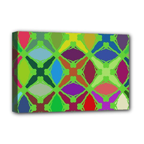 Abstract Pattern Background Design Deluxe Canvas 18  x 12