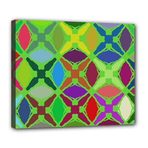 Abstract Pattern Background Design Deluxe Canvas 24  X 20