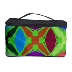 Abstract Pattern Background Design Cosmetic Storage Case