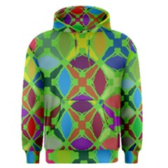 Abstract Pattern Background Design Men s Pullover Hoodie