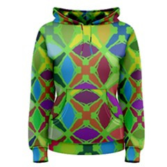 Abstract Pattern Background Design Women s Pullover Hoodie
