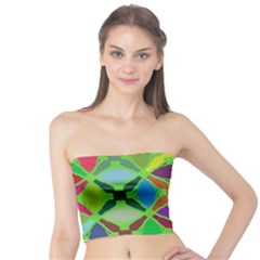 Abstract Pattern Background Design Tube Top