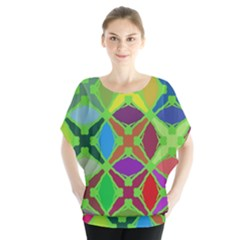 Abstract Pattern Background Design Blouse