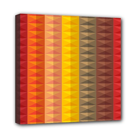 Abstract Pattern Background Mini Canvas 8  x 8