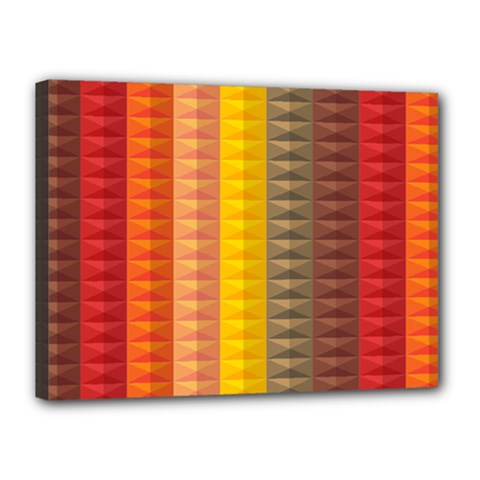 Abstract Pattern Background Canvas 16  X 12