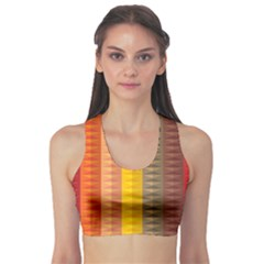 Abstract Pattern Background Sports Bra