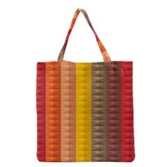 Abstract Pattern Background Grocery Tote Bag