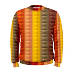 Abstract Pattern Background Men s Sweatshirt