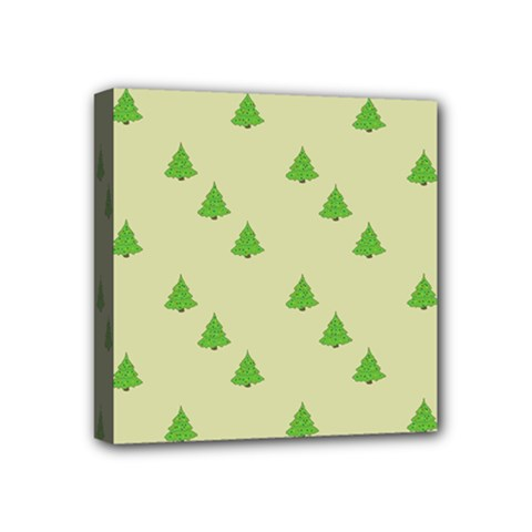 Christmas Wrapping Paper Pattern Mini Canvas 4  x 4