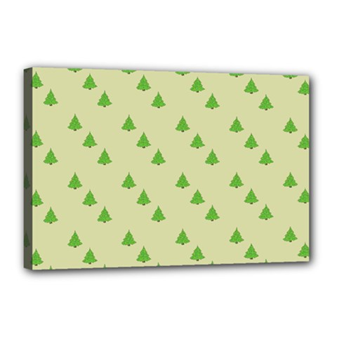 Christmas Wrapping Paper Pattern Canvas 18  x 12