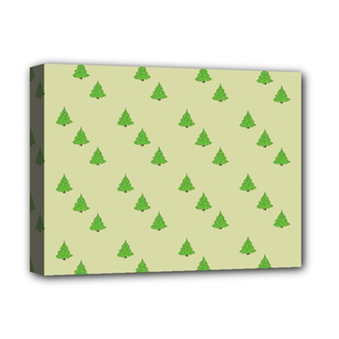 Christmas Wrapping Paper Pattern Deluxe Canvas 16  x 12
