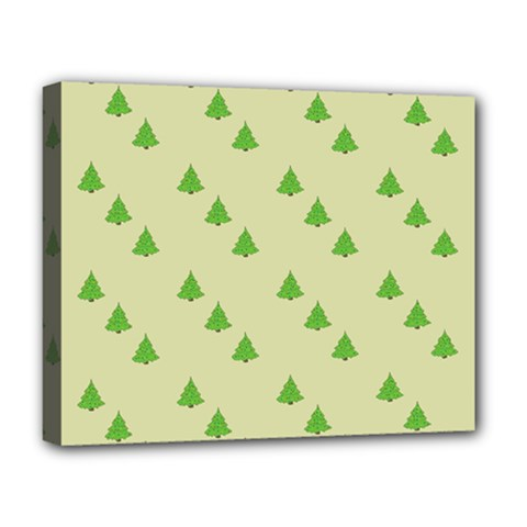 Christmas Wrapping Paper Pattern Deluxe Canvas 20  x 16