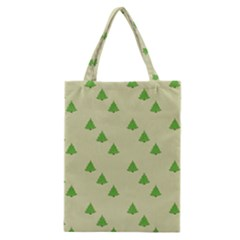Christmas Wrapping Paper Pattern Classic Tote Bag
