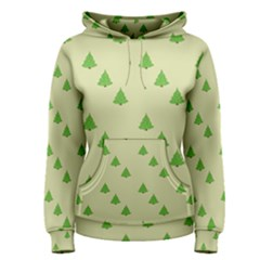 Christmas Wrapping Paper Pattern Women s Pullover Hoodie