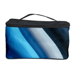 Abstract Pattern Lines Wave Cosmetic Storage Case