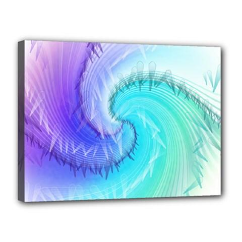 Background Colorful Scrapbook Paper Canvas 16  X 12