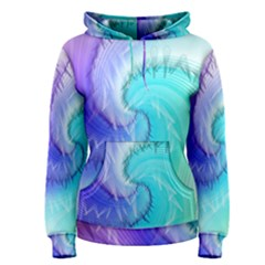 Background Colorful Scrapbook Paper Women s Pullover Hoodie