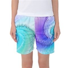 Background Colorful Scrapbook Paper Women s Basketball Shorts