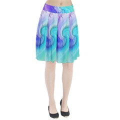 Background Colorful Scrapbook Paper Pleated Skirt