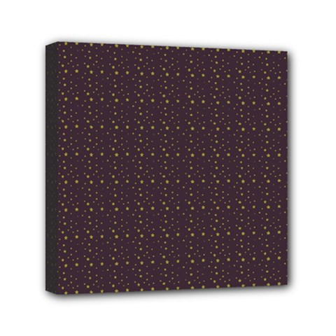 Pattern Background Star Mini Canvas 6  X 6